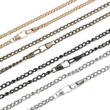 DIY Long 120cm Metal Replacement Handle Chain Crossbody Shoulder Bags Straps