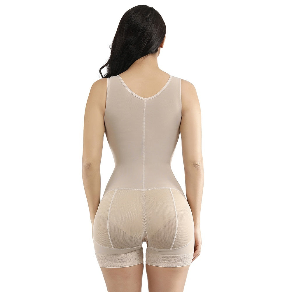 Lace Hooks U Neck Glue Crotchless Big Size Bodysuits