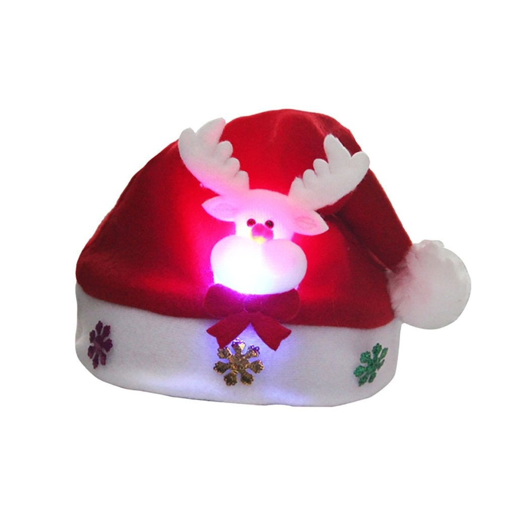 Soft Warm Caps  Winter Hats Lightweight Christmas Hats Xmas Kids Gift