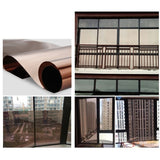 70 x 100CM Large Window Glass Film Mirror Silver Insulation Stickers Solar Reflective GTGT