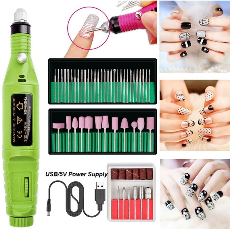 Manicure Tools Nail Kit Gel Nail Kit Uv Gel Manicure Kit 36w/48w/80w Led Lamp Everything for Manicure Pedicure Acrylic Nail Kit A or B or C