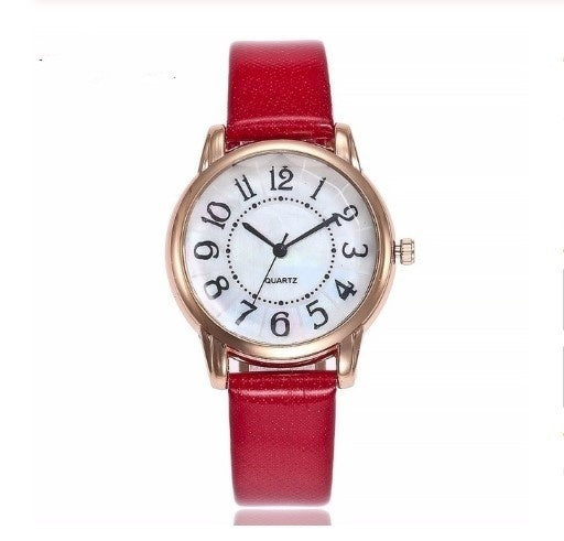 1Pc Super Hot Women Watches Female Clock Quartz Watch Ladies Quartz Wrist Watch Christmas Gifts
