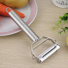 Load image into Gallery viewer, Stainless Steel Potato Cucumber Carrot Grater Julienne Peeler Vegetables Fruit Peeler Double Planing Grater Kitchen Gadget High Quality