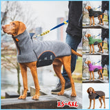 New Fashion Dog's Winter Warm Pet Coats Casual Solid Color Dog Clothes for Small Medium and Large Dogs