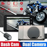 3Inch HD Motorbike Recorder Driving Recorder Dash Cam Motorcycle Camera Night Vision Zinc Alloy Housing