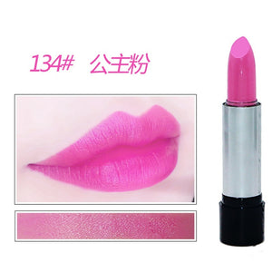 13 Color Smooth Moisturizer Rouge Lipstick Long Lasting Lip Pink Red Nudes Glitter Lip Stick Makeup Lips Non-stick Cup Lip Stick