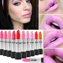 Load image into Gallery viewer, 13 Color Smooth Moisturizer Rouge Lipstick Long Lasting Lip Pink Red Nudes Glitter Lip Stick Makeup Lips Non-stick Cup Lip Stick