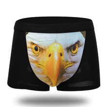 Load image into Gallery viewer, 3D Boxer Shorts Underwear Men Underwears Boxer Sexy Cotton Underwear Male Underpant Wolf / Eagle Pattern Sexy Masculinity Charm