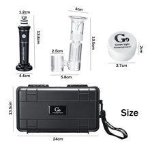 Load image into Gallery viewer, Mini Henail / Henail Plug Portable Glass Henail with Box For GreenLightVapes G9 eNail With Separating Bubbler Smoking Accessories