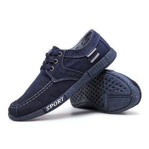 Summer Men's Casual Shoes Cloth Shoes Breathable Shoes Canvas Shoes