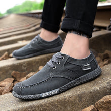Load image into Gallery viewer, Summer Men's Casual Shoes Cloth Shoes Breathable Shoes Canvas Shoes