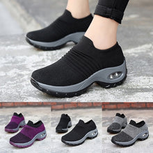 Load image into Gallery viewer, Women's Wedges Air Cushion Platform Sports Shoes Non-slip Breathable Running Shoes