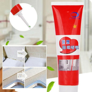 2020 New 20g/100g Household Mold Removal Gel Tile Pool Mold Removal Mildew Stain Glass Glue Cleaning Paste Deep Wall Mold Remover