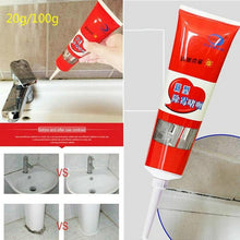 Load image into Gallery viewer, 2020 New 20g/100g Household Mold Removal Gel Tile Pool Mold Removal Mildew Stain Glass Glue Cleaning Paste Deep Wall Mold Remover