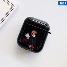 Load image into Gallery viewer, Anime Naruto Sasuke Itachi Pain Print Protective Glossy Case For Airpods Case Cover Wireless Bluetooth Headset Case Headphone Case(Without Headphone )