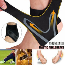 Load image into Gallery viewer, 1PC Adjustable Elastic Ankle Brace Support Bandage Sports Running Foot Protection Bandage Breathable Lightweight Compression Anti Sprain