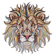 Load image into Gallery viewer, Iron on the transfer clothes patches cool 3D Lion king sticker for tops t-shirt home DIY decoration Appliqued For bag curtain