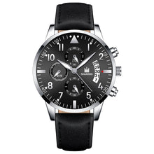 Load image into Gallery viewer, Classic Men Luxury Business Watch Calendar Stainless Steel Quartz Watch Relojes Hombre Man Fashion Casual Black Leather Watches Clock Relogio Masculino