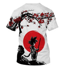 Load image into Gallery viewer, Men's Fashion Summer Short Sleeve 3D Print Dragon Ball T-Shirt Cool Anime Tops Plus Size S~5XL
