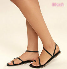 Load image into Gallery viewer, Fashion Women Bandage Sandals Sexy Casual Simple Beach Shoes for Summer
