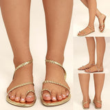 Fashion Women Bandage Sandals Sexy Casual Simple Beach Shoes for Summer