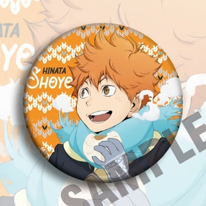 Hot Anime Haikyuu Badge Bag Tie Badge Brooch Pins Accessory WWW