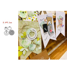 Load image into Gallery viewer, CH A basket of vegetables Metal Cutting Dies 3D DIY Scrapbooking Carbon Sharp Craft Die Photo Invitation Cards Decoration