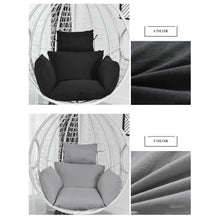 Load image into Gallery viewer, Hanging Egg Hammock Chair Cushion Swing Seat Cushion Thick Nest Hanging Chair Back 2 Style for Choose NO CHAIR