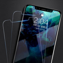 Load image into Gallery viewer, 2/ 5 pcs New HD Clear Tempered Glass Screen Protector for iPhone SE 2020 4.7' X XS 5.8' XR 6.1' Xs Max 6.5 iPhone 11 11Pro iPhone 11 Pro Max