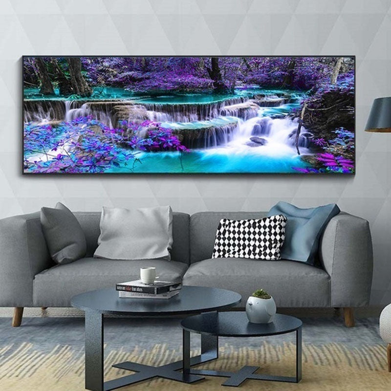 Home Room Decor 5D Diamond DIY Wall Hanging Painting Landscape Wall Art Painting Craft Kit