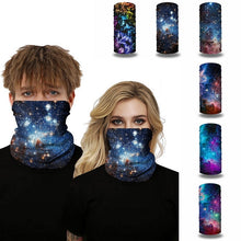 Load image into Gallery viewer, Digital Printed Outdoor Headwear Sports Tube Face Mask for Workout Yoga Running Hiking Riding