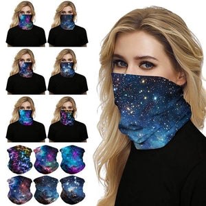 Digital Printed Outdoor Headwear Sports Tube Face Mask for Workout Yoga Running Hiking Riding