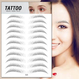 NEW Magic 4D Hair-like Eyebrow Tattoo Sticker Waterproof Lasting Makeup Water-based False Eyebrows Stickers Cosmetics