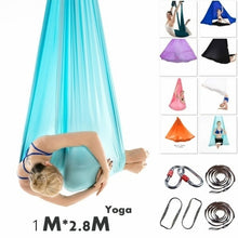Load image into Gallery viewer, Yoga Swing Sling Hammock Trapeze Anti-Gravity Inversion Therapy Aerial Home Gym Sports Tools for Children