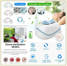 Load image into Gallery viewer, High Quality Update Household New Air Purifier Ozone Generator Ionizer Smoke Remover Cleaner Room Sterilization Anti Virus Disinfector