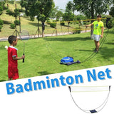 Portable Simple Folding & Movable Tennis Indoor And Outdoor Badminton Net Rack
