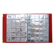 Load image into Gallery viewer, Money Coin Storage Book Commemorative Penny Coin Collection Album Holder (480 Pocket 20 Page / 240 Pocket 10 Page )