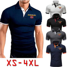 Load image into Gallery viewer, 2020 New Fashion Men Summer Short Sleeve Casual T-Shirts Sports Laple Collar Young Tops (XS-4XL)