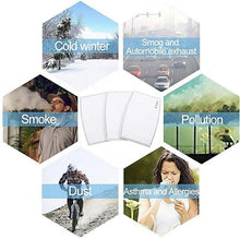 Load image into Gallery viewer, 10/30/50PCS Adult or Kids Filtre De Masque PM2.5 N95 5Layer Activated Carbon Filter Disposable Face Mask Breathing Insert Protective Mouth Mask Filter Filtro De M¨¢scara