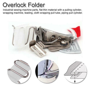 Household Presser Foot Overlocking Quilting Splicing Cloth Tool Curve Edge Bias Binder Sewing Machine Sewing Accessories
