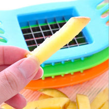 Load image into Gallery viewer, French Fry Potato Chip Cut Cutter Chopper Chipper Blade Vegetable Home Fruit Slicer