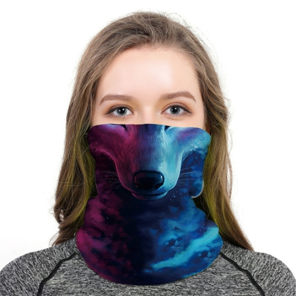 47 Styles 2020 Unisex Seamless Rave Bandana Neck Gaiter Tube Mask Headwear, Motorcycle Face Mask For Women Men Face Scarf