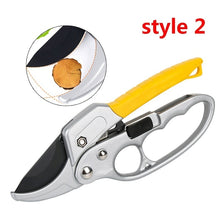Load image into Gallery viewer, Garden Pruning Shear High Carbon Steel Scissors Gardening Plant Scissor Branch Pruner Trimmer Tools