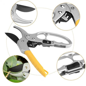 Garden Pruning Shear High Carbon Steel Scissors Gardening Plant Scissor Branch Pruner Trimmer Tools