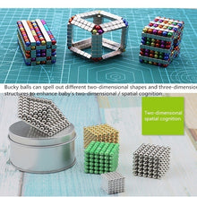 Load image into Gallery viewer, New 3/5mm 216 Magnetic ball leisure puzzle magnetic beads creative decompression color magnetic ball holiday gift