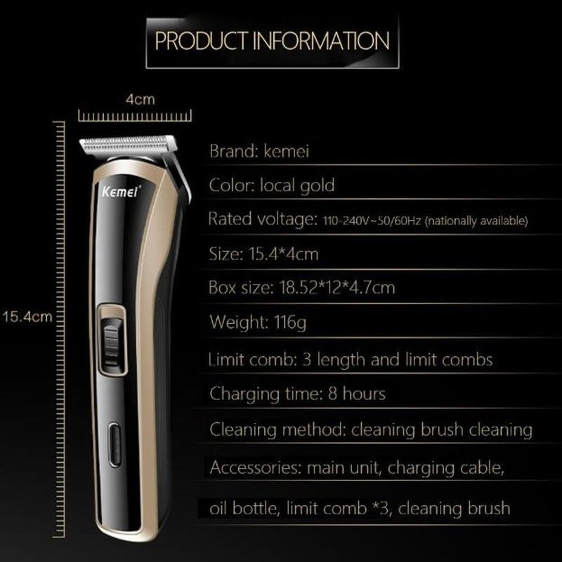 Professional Electric Hair Clipper Hair Trimmer Cutting For Children Men Adult