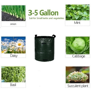 Smart Plant Grow Bags for Potato/Plant Container/ Flowers Pots/Garden Decoration with Handles