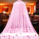 8 Color Fashion Luxury Princess Lace Dome Insect Bed Canopy Netting Girl Dream Curtain Dome Mosquito Net Bedding Comfortable Sleep 60x280x850cm