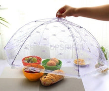 Load image into Gallery viewer, Kitchen Gadgets 1pcs Newest Umbrella Style Food Covers Anti Fly Mosquito Meal Cover Lace Table Home Using Food Cover