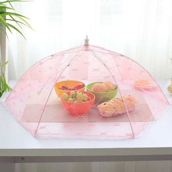 Kitchen Gadgets 1pcs Newest Umbrella Style Food Covers Anti Fly Mosquito Meal Cover Lace Table Home Using Food Cover
